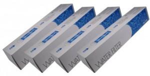 Wasserfilter sinnvoll Siemens, Bosch, Daewoo, Neff DD-7098, 497818, 3019974800 4er SET