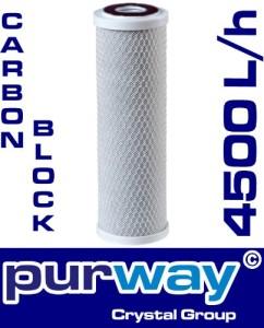 Wasserfilter Kalk PCB 4500L/h 10 µm Carbon Block Filter Chlor