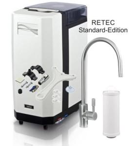 Aquaflow 300 GPD directflow Osmoseanlage Wasserfilter RETEC Standard Edition