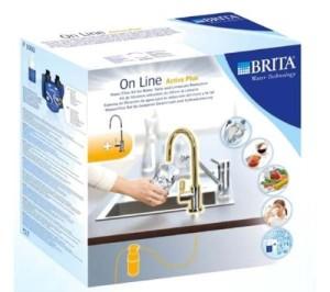 Wasserfilter Kalk BRITA Armatur mit integriertem Wasserfilter, OnLine Active Plus [Energieklasse A]