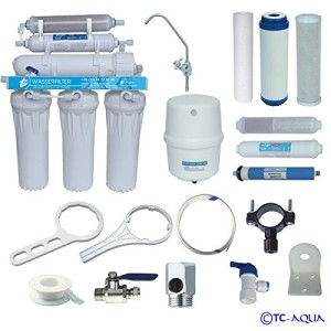 Umkehrosmose Wasserfilter Aquamarin RO 6 mit Mineralfilter