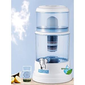 Natures Spring Meine Quelle IV Gravitations Wasserfilter Testsiegeger 20 Liter