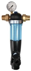 Wasserfilter Hausanschluss SYR Rückspülfilter, System DUO DFR