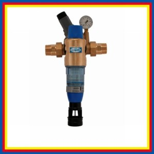 Wasserfilter Hausanschluss BWT Rückspülfilter Bolero HWS mit Druckminderer inkl. Anschluss-Technik DN